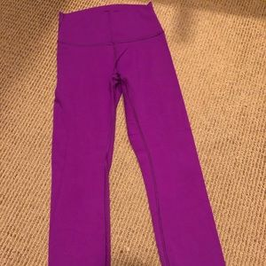 Lululemon magenta high times 4
